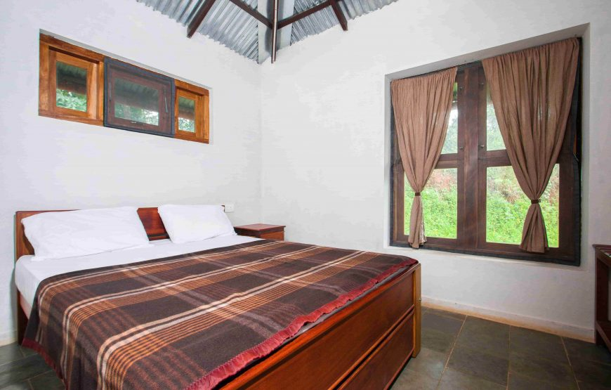 Well cushioned bed in anaikatti forest rest house