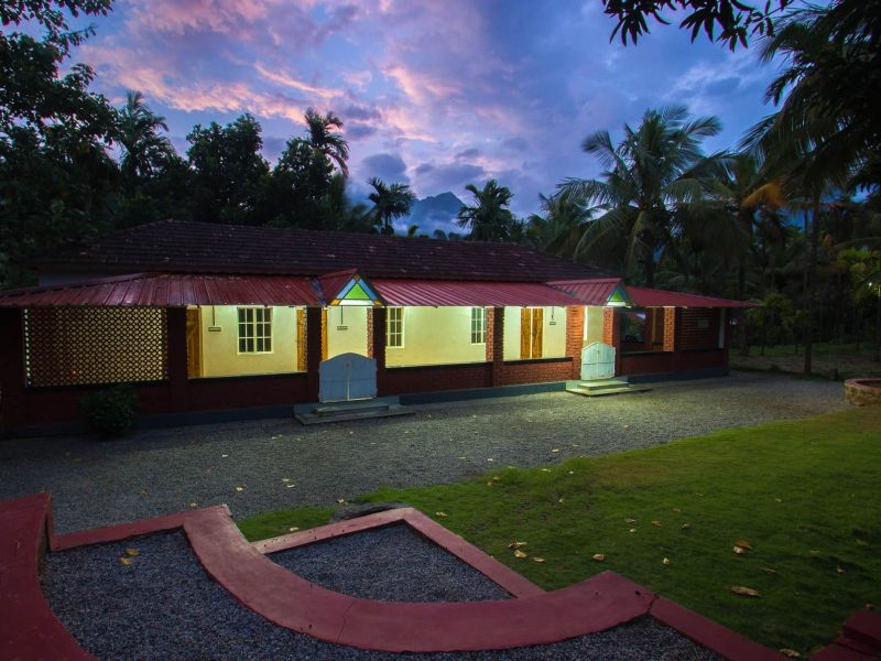 front view of attapadi homestay