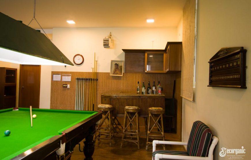 home bar cabinet of the Ecorganic Stays Kodaikanal