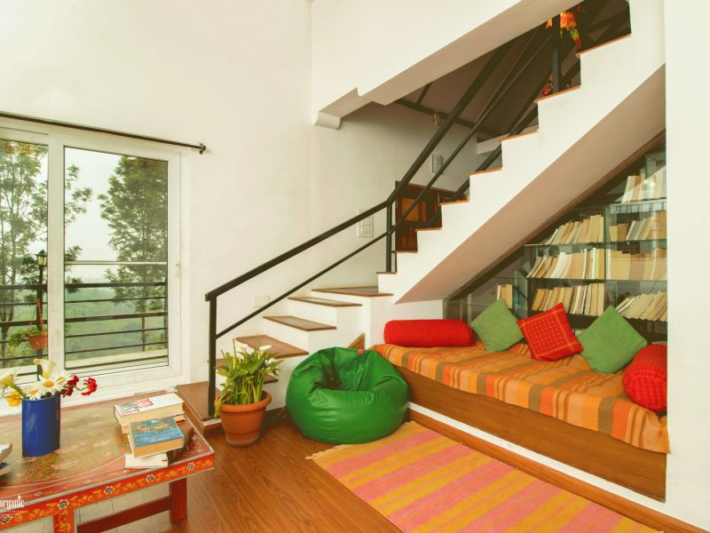 bean bag and sofa set in tea estate stay in kotagiri