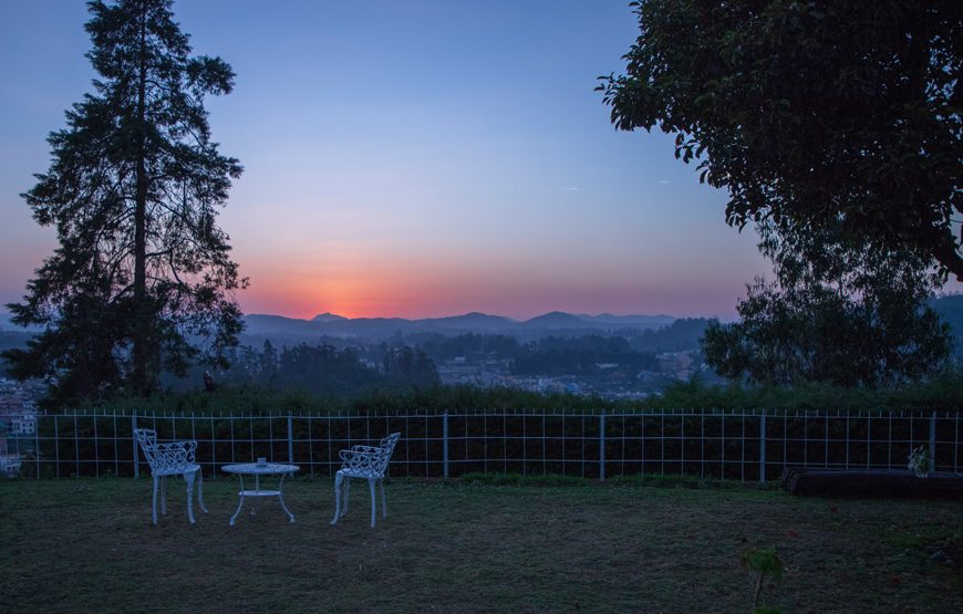 sunset from The Nest Kotagiri