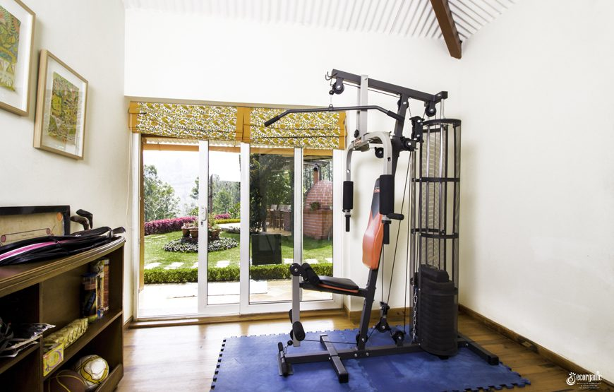 home gym in The Nest Kotagiri