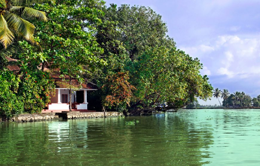 elegant backwater stay in alleppey