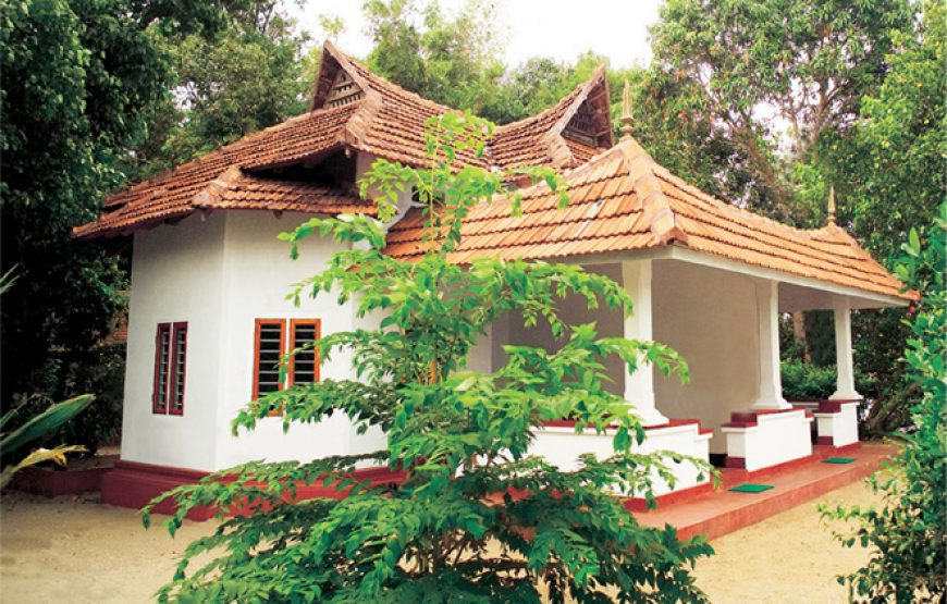 Stone roof top house in Alleppey Homestay Backwaters