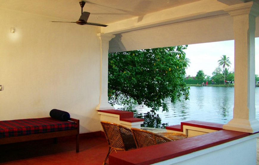 Beautifulll view from corridor of the Alleppey Homestay Backwaters