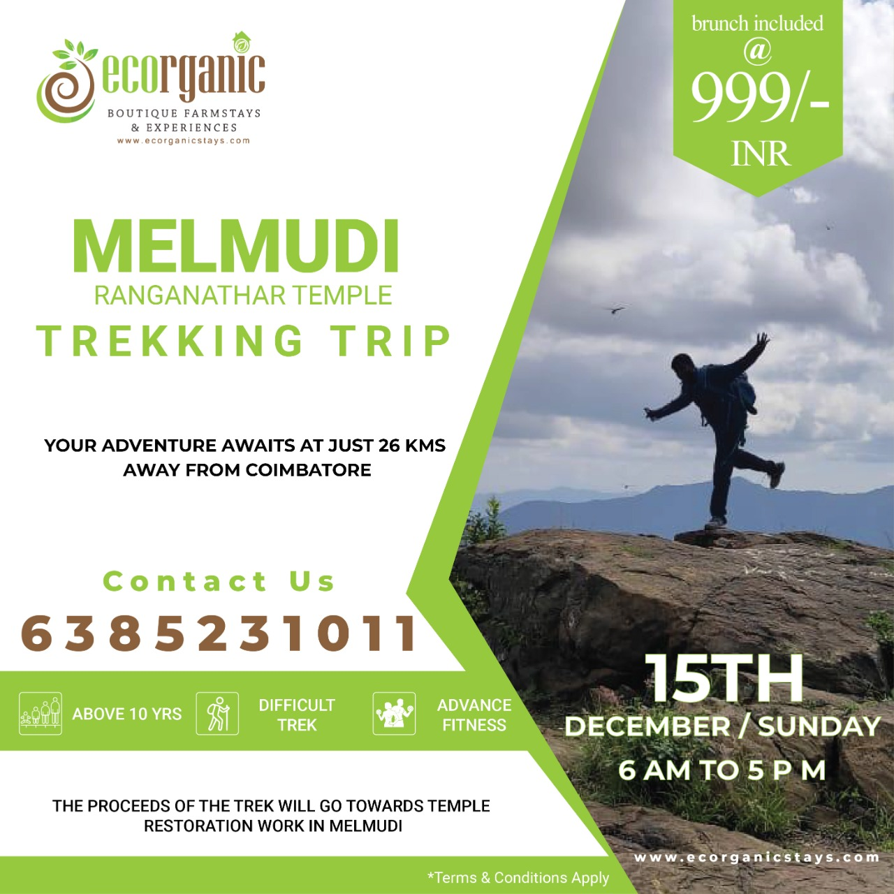 Trekking in Bangalore