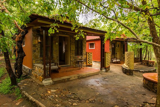 spa exterior view in bandipur forest stay