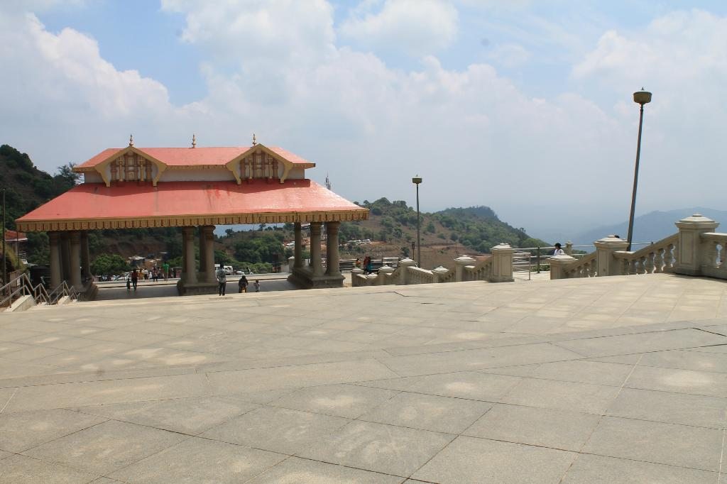 talakaveri temple near the best homestay in coorg